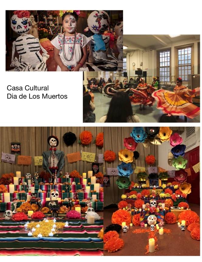 Casa Cultural Dia de Los Muertos